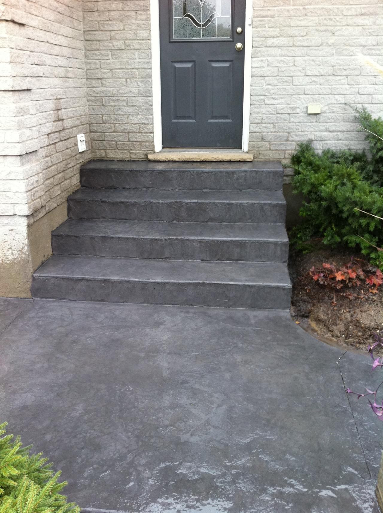 Thames Valley Decorative Concrete Steps