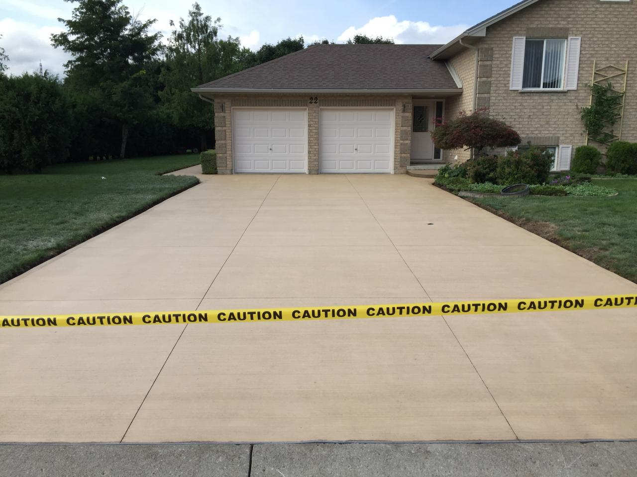 Thames Valley Decorative Concrete Inc Driveways